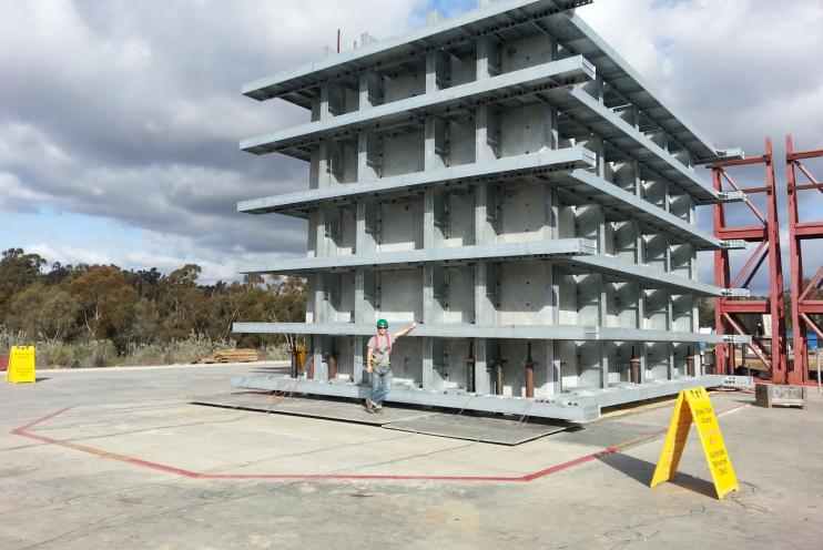 UCSD Structural Engineering Shake Table at Elliot Field Station La